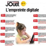 l'empreinte digitale des enfants